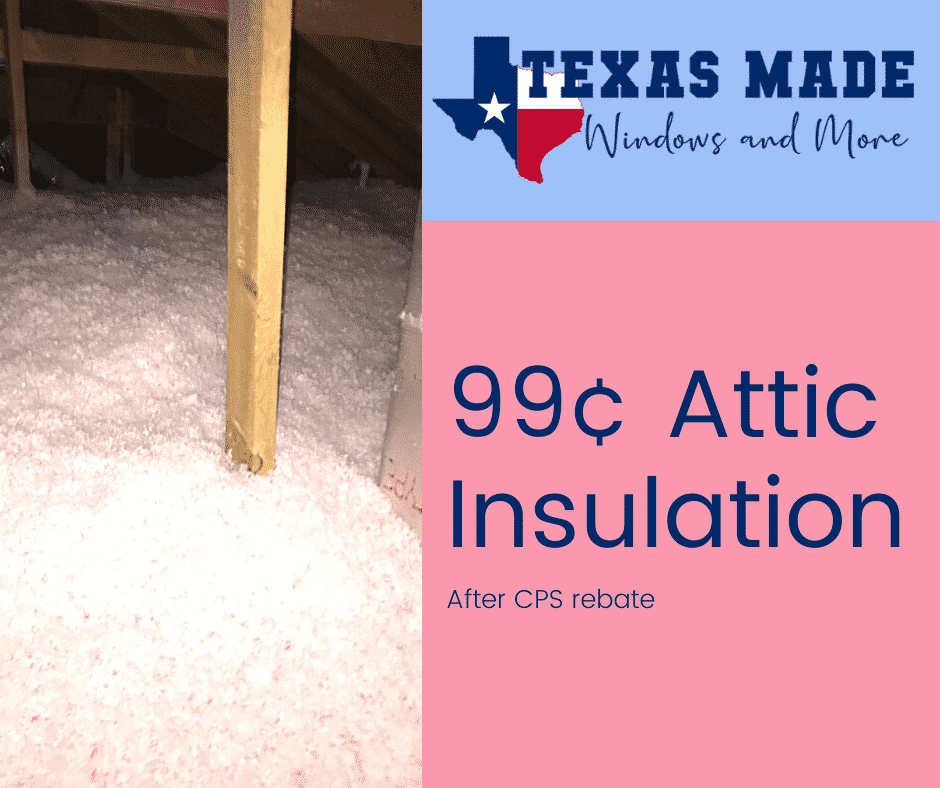 99¢ Attic Insulation in San Antonio